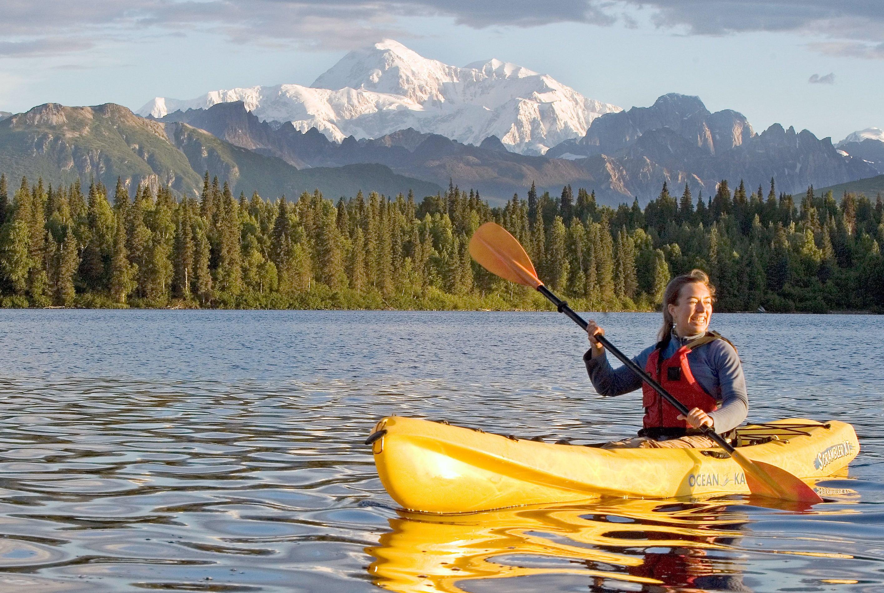 Denali Southside River Guides Talkeetna rafting kayaking boating Alaska